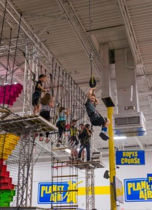 Ropes Course Planet air Sports