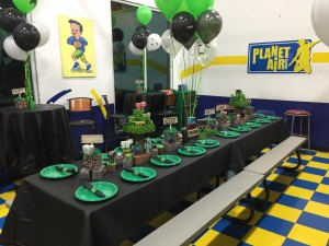 Minecraft Birthday PlanetAirSports