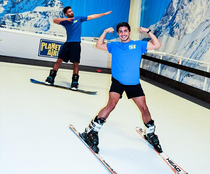 ski snowboard simulator
