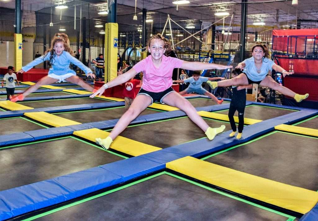 Get Extreme at Planet Air Sports