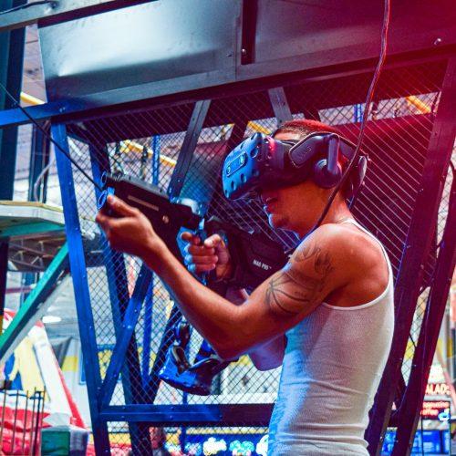 virtual reality slide